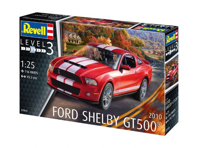 Revell 07044 2010 Ford Shelby GT 500 1:25